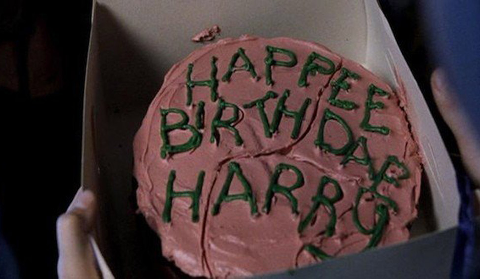 Hari Poter rođendanska torta